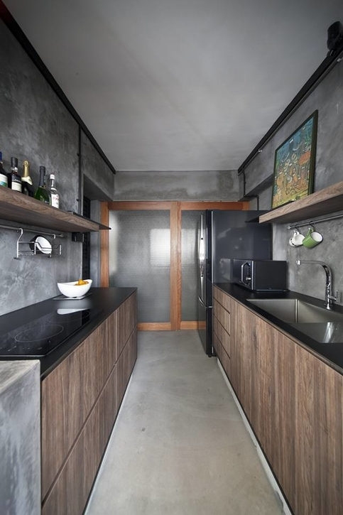 Galley Kitchen Ideas For Hdb Homeowners Cromly Com